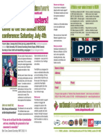 Latest NSSN conference leaflet