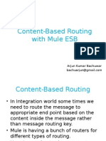 Content-Base Routing With Mule