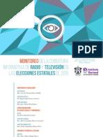 1er Informe Monitoreo Radio y Television