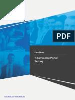 Testing ECommerce Portal