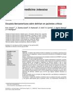Encuesta Iberoamericana de Delirium en UCI