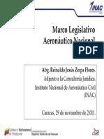 Marco Legislativo Aeronautico Nacional
