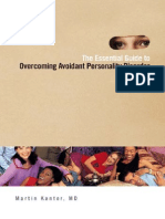 The Essential Guide to Overcoming Avoidant Personality Disorder Martin Kantor