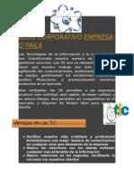 Nuevo Blog Corporativo Empresa q Paila