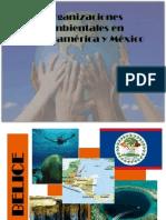 Organizaciones Ambientales en Centroamérica y México