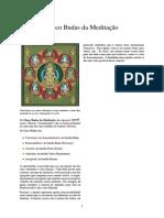 Cinco Budas Da Meditação - dhyani buddhas