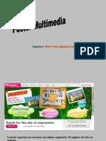 Tutorial Poster Multimedia Glogster