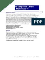 VSL MIDI Router Manual v1