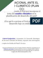 Plan Nacional Ante El Cambio Climatico Plan