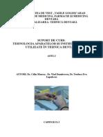 Carte Aparate de Tehnica Dentara I