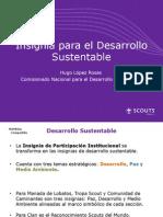 Presentación Insignia de Desarrollo Sustentable Scouts