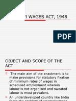 Minimum Wages Act1948