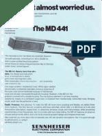 Sennheiser Md 441