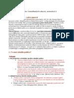 Relatii Publice, Master AAMM, Master Consultanță, Sem. 2