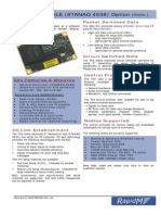 RM-TC4 3G ALE Controller STANAG 4538 Software Option