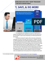 Consolidate SAS 9.4 workloads with Intel Xeon processor E7 v3 and Intel SSD technology