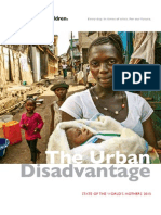 State of the World Mother's 2015 Report - The Urban Disadvantage