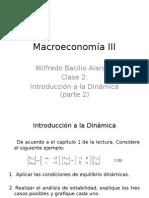 Macroeconomía III - Clase 2