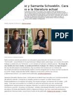 Pablo Gutiérrez y Samanta Schweblin