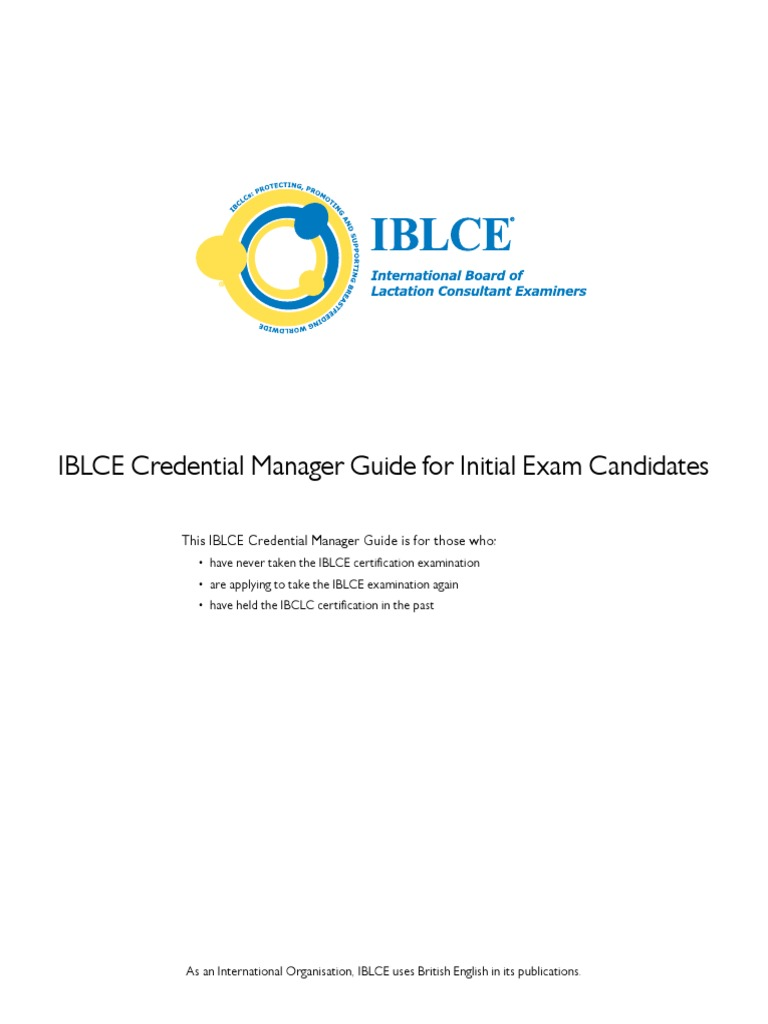 Pcm Guide Initial Candidates Credential User Computing
