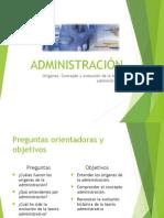Clase No. 1 Teoria de la Administracion.ppt