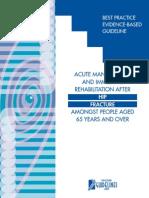 Hip Fracture Management New Zealand Best Practice Guidelines
