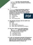 Molecular Biology Sheet