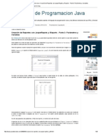 Tutoriales de Programacion Java_ Creación de Reportes Con JasperRepots y IReports - Parte 3_ Parámetros y Variables