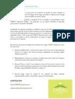 EMBAU Ingenieria Brochure Asesoria