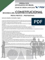 XV Exame Constitucional - SEGUNDA FASE
