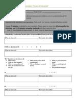 mock interviews 2 feedback form for participants
