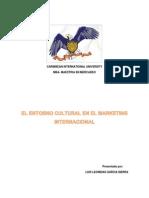 El Entorno Cultural en El Marketing Internacional