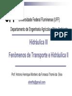 Fentran MATERIAL AULA 01 Hidrostática
