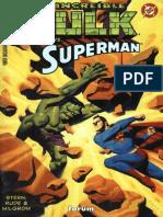 Dc Marvel Comics - Hulk vs Superman