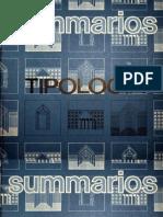 MONEO, Rafael - De la Tipología (Summarios #79)