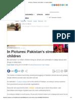 In Pictures_ Pakistan's Street Children - Al Jazeera English