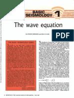 basis of seismology 01