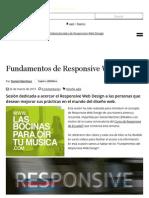 Fundamentos de Responsive Web Design