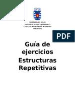 Informe Guía Estructuras Repetitivas