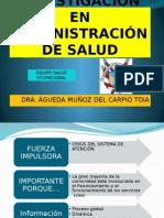 La Investigacion en Administracion en Salud-2
