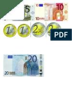 Pièces et billets euros