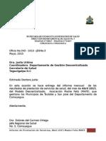 Informes Abril 2015 Mafe Taulabe Ugd Tegucigalpa