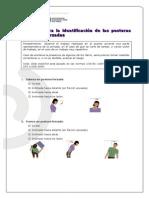 Checklist de Posturas Forzadas