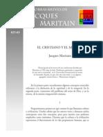 j.m Obras Breves Humanismo El Cristiano y El Mundo