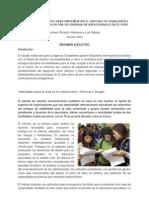 Informe Programa Habilidades para la VidaResumen Ejecutivo