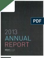 Bright Future 2013 Annual Report