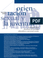 Orientancion Sexual y Juventud