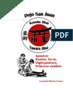 Kuatsu Do in Digitopuntura Primeros Auxilios, by Leopoldo Muñoz Orozco