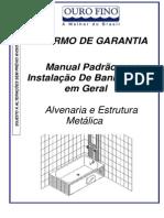 Manual Banheiras Geral