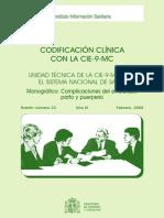 Codificacion Clinica del embarazo